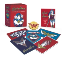 Wonder Woman: Magnets, Pin, and Book Set, Mixed media product Book
