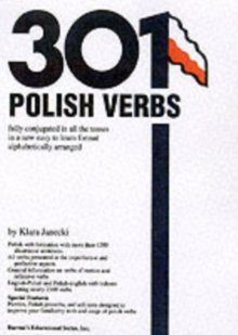 301 Polish Verbs, Paperback Book