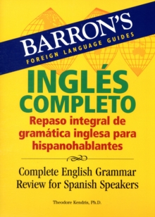 Complete English Grammar Review for Spanish Speakers, Paperback Book