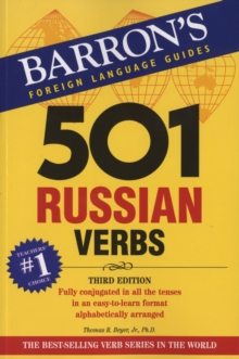 501 Russian Verbs, Paperback Book