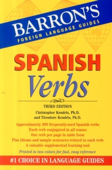 Spanish Verbs, Paperback Book
