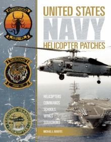 United States Navy Helicopter Patches, Hardback Book
