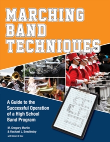 Marching Band Techniques, Paperback / softback Book