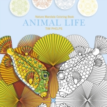 Animal Life : Nature Mandala Coloring Book, Paperback Book
