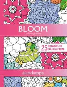 Bloom : A Coloring Journey, Paperback Book