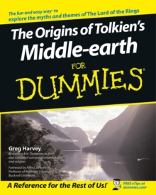 The Origins of Tolkien's Middle-earth For Dummies, Paperback Book