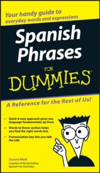 Spanish Phrases for Dummies, Paperback Book