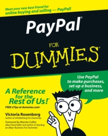 PayPal For Dummies, Paperback Book