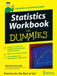 Statistics Workbook for Dummies, Paperback Book