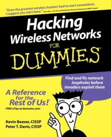 Hacking Wireless Networks For Dummies, Paperback / softback Book
