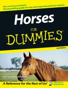 Horses for Dummies, 2nd Edition, Paperback Book