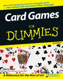 Card Games For Dummies, Paperback / softback Book