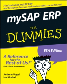 mySAP ERP For Dummies, Paperback / softback Book