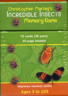 Christopher Marley's Incredible Insects Memory Game Mg001, Game Book