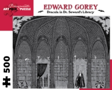 Dracula in Dr. Seward's Library 500-Piece Jigsaw Puzzle, Other merchandise Book