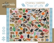 Charley Harper Tree of Life 500-Piece Jigsaw Puzzle Aa708, Other merchandise Book