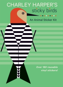 Charley Harper's Sticky Birds   an Animal Sticker Kit Aa769, Novelty book Book