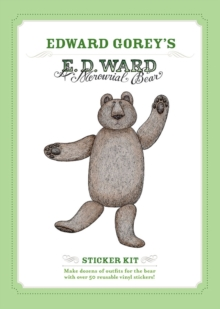 E. D. Ward  a Mercurial Bear  Edward Gorey Sticker Kit  Aa786, Novelty book Book