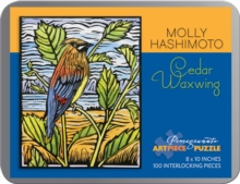 Cedar Waxwing : Molly Hashimoto 100-Piece Jigsaw Puzzle, Other merchandise Book