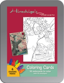 Hiroshige'S Flowers Coloring Cards Cc103, Other printed item Book