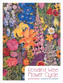 Rosalind Wise  Flower Cycle Block Puzzle Pb012, Other merchandise Book
