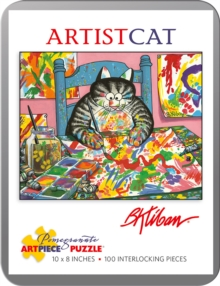 B. Kliban Artistcat 100-Piece Jigsaw Puzzle Aa813, Other merchandise Book