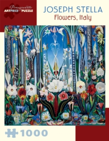 Joseph Stella : Flowers, Italy 1,000-Piece Jigsaw Puzzle Aa809, Other merchandise Book