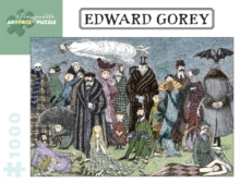 Edward Gorey 1000-Piece Jigsaw Puzzle, Other merchandise Book