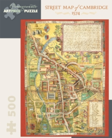 Street Map of Cambridge 500-Piece Jigsaw Puzzle Aa827, Other merchandise Book