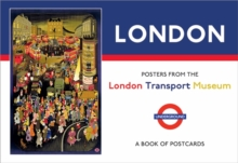 London Posters from the London Transport Museum Book of Postcards AA832, Postcard book or pack Book