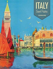 Italy Travel Posters Cb163, Paperback Book