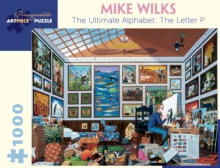 Mike Wilks the Ultimate Alphabet the Letter P 1000-Piece Jigsaw Puzzle, Other merchandise Book