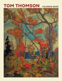 Tom Thomson Coloring Book  Cb171, Paperback Book