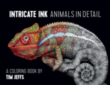 Intricate Ink  Animals in Detail a Coloring Book by Tim Jeffs Cbk002, Paperback Book