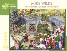 Mike Wilks the Ultimate Alphabet the Letter B 1000-Piece Jigsaw Puzzle, Other merchandise Book