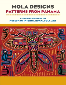 Mola Designs Patterns from Panama Coloring Book  Cb177, Paperback / softback Book