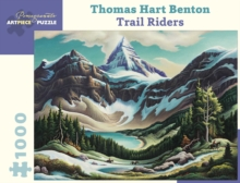 Thomas Hart Benton Trail Riders 1000-Piece Jigsaw Puzzle  Aa962, Other merchandise Book