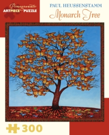 Paul Heussenstamm Monarch Tree 300-Piece Jigsaw Puzzle  Jk050, Other merchandise Book