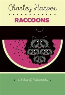 Charley Harper Raccoons Notecard Folio  0991, Other merchandise Book