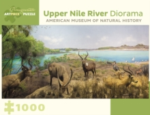 Upper Nile River Diorama 1000-Piece Jigsaw Puzzle  Aa957, Other merchandise Book