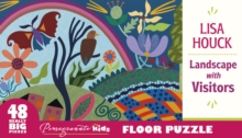 Lisa Houck Landscape with Visitors Floor Puzzle  Fp002, Other merchandise Book