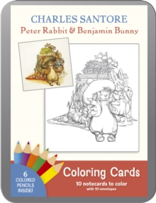 Charles Santore Peter Rabbit & Benjabunny Coloring Cards, Other printed item Book