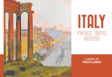 Italy Vintage Travel Posters Book of Postcards, Postcard book or pack Book