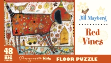 Jill Mayberg Red Vines Floor Puzzle  Fp004, Other merchandise Book