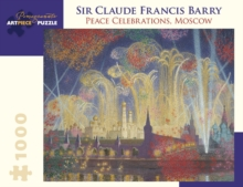Sir Claude Francis Barry Peace Celebrations Moscow 1000-Piece Jigsaw Puzzle  Aa971, Other merchandise Book