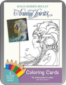 Susan Seddon Boulet Animal Spirits Coloring Cards, Other printed item Book