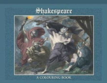 Shakespeare Colouring Book, Paperback Book