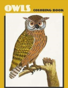 Owls Coloring Book, Paperback / softback Book