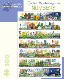 Claire Winteringham : Numbers 300-Piece Jigsaw Puzzle, Other merchandise Book