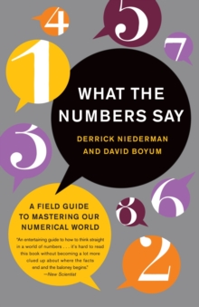 What The Numbers Say, Paperback Book